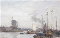 dorhect, holland by john noble