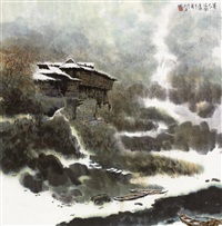 暮冬 by jiang zhenguo