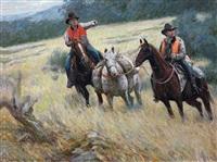 cowboy by xu chunzhong