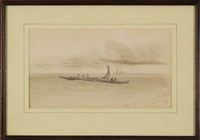 approaching the provence of honolulu by auguste borget