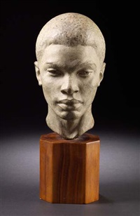 head of a negro boy by richmond barthe