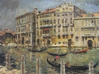 on the grand canal, venice by cathleen s. mann