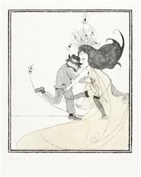ach, lieber beardsley (portfolio of 7) by janosch