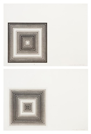 cato manor from multicolored squares series pair by frank stella