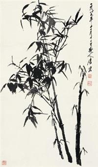 墨竹图 by tang yun