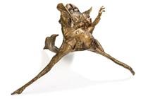 reclining figure by lothar fischer