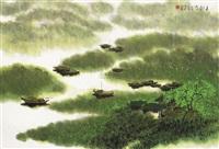 春月渔歌 by jiang zhenguo