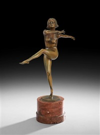 the dancer by franz fiedler