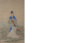 empress dowager cixi by zhao tong
