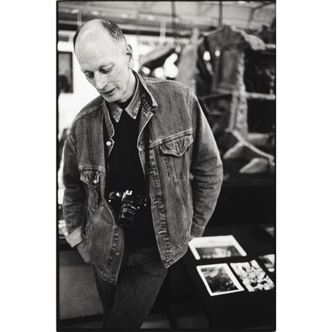 will mcbride with his leica by michael agel