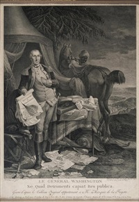 le general washington (after jean baptiste le paon, after charles willson peale) by noël le mire
