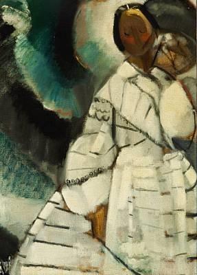 hvid dame by age vogel jorgensen