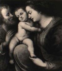 die heilige familie by lionello spada