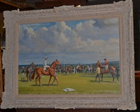 getting ready newmarket by neil cawthorne