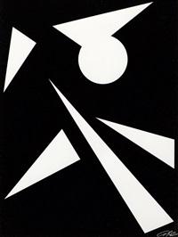 komposition in schwarz und weiß by anne beothy-steiner