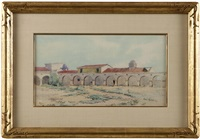 view of mission san juan capistrano by elmer wachtel