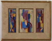 les trois fêtes (3 works) by eve krugier-spierer