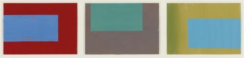 ohne titel (triptych) by markus linnenbrink