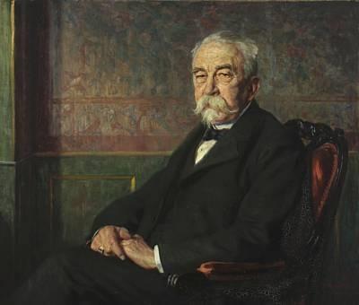 portrait of eberhard von elbrecht by carl christian ferdinand wentorf