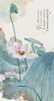 荷花 by ren zhong
