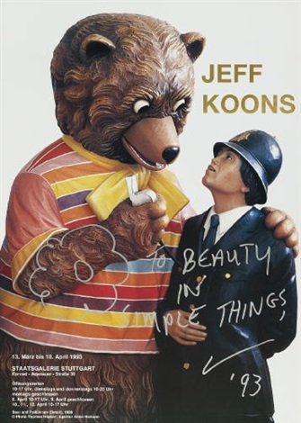 jeff koons to beauty in simple things by jeff koons
