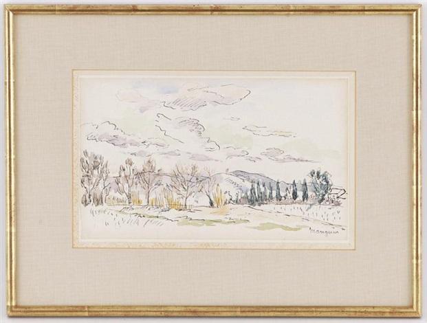 la vallée de romans by henri charles manguin