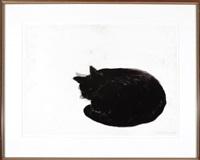 romance viii (sleeping cat) by peter alexander