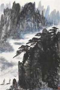 山水 by zhou bo