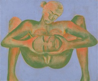 woman by francesco clemente