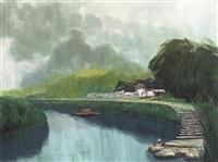 夏暮 by jiang zhenguo