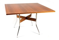 swag leg dining table by herman miller