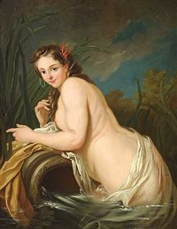 amfitrite (after van loo) by johan ahlberg