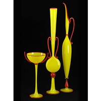 vessels (set of 3) by dante marioni
