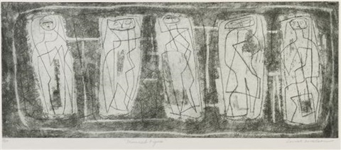 mirrored figures by louise nevelson