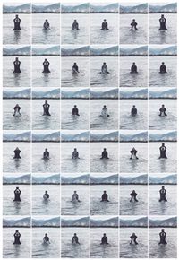 stamping the water (36 works) by song dong