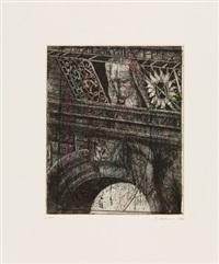 architektonische fragmente (8 works) by peter ackermann