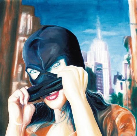 migliore stile unico codice coupon Donna con passamontagna by Mario Vespasiani on artnet