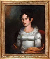 portrait of archibald terrill (1774-1824) and portrait of mrs. archibald terrill, née nancy martin (b. 1775) by american school-louisiana (19)