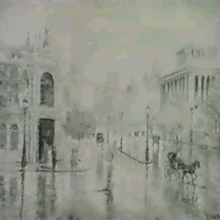 calle de alcala by mariano gutierrez viguera