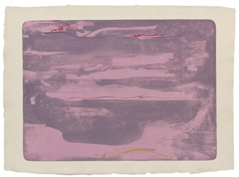 dream walk by helen frankenthaler