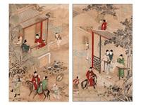 paar chinesische malereien auf reispapier (pair) by anonymous-chinese (18)