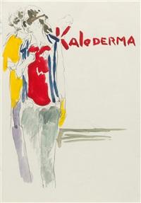 ohne titel (kaloderma) by paulina olowska