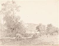 paisaje de arbúcies by luis rigalt