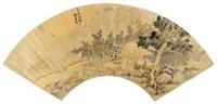 竹篱清舍图 by liu yuanqi