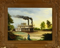 steaming on the bayou by charles lissmore