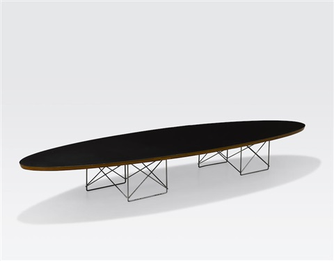 Etr coffee table by charles and ray eames on artnet for Table ronde charles eames