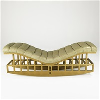 rocking chaise by richard meier