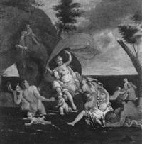 der triumph der galathea by nicola vaccaro