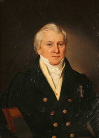 portrait of a gentleman by louis auguste francois aumont