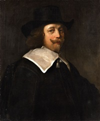 portrait of cornelis de graeff by jacob adriaensz de backer